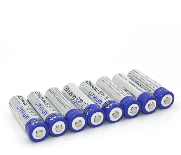 the new 8pcs lot etinesan super lithium 1 5v aa primary batteries li