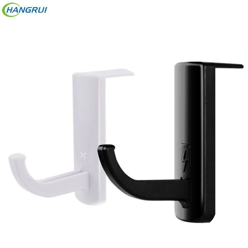 Hangrui Universal Headphone Holder Durable Wall Mount for Earphone Headset Shelf Rack earphones holder hook for cables adapters