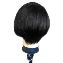 Human Hair Wigs For Black Women Short Bob Wigs Bleached Knots With Baby Hair Brazilian Lace Front Wig Remy