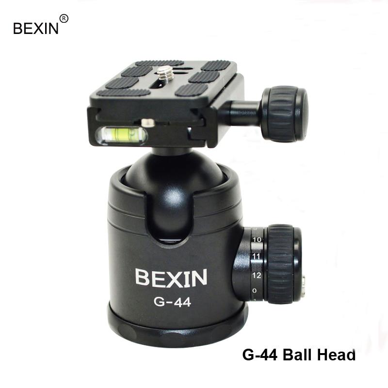 BEXIN Professional 삼각대 볼 헤드 360도 파노라마 회전 (퀵 릴리즈 포함) clmap 플레이트 (DSLR 카메라 용)