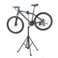 Heavy Duty Bicycle Stand Professional Bike Home Storage Adjustable Height Repair Stand Telescopic Cycling Rack Maintenance