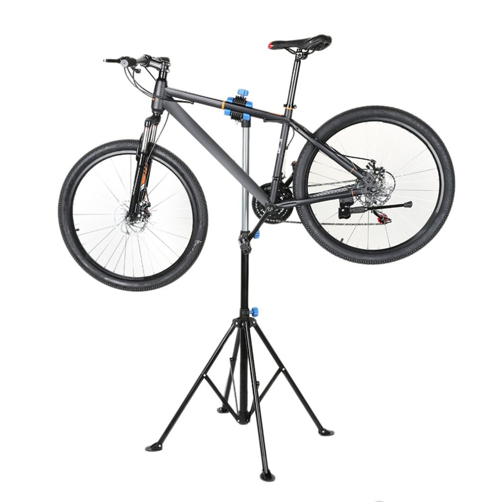 Heavy Duty Bicycle Stand Professional Bike Home Storage Adjustable Height Repair Stand Telescopic Cycling Rack Maintenance Tool just play just play мягкая игрушка собачка кэнди и ее щенки