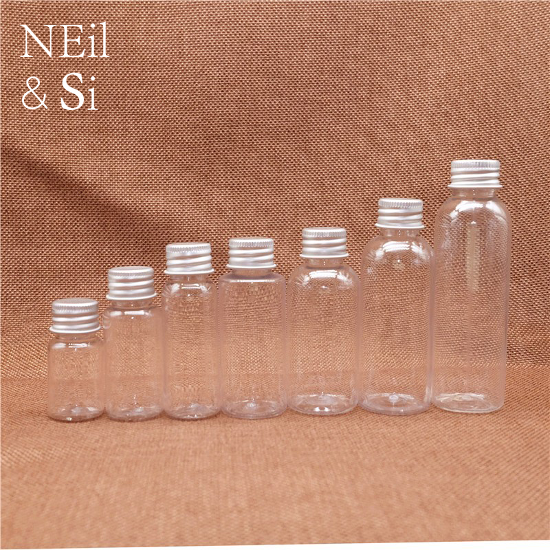 10ml 20ml 30ml 50ml 100ml Plastic Water Drop Bottle Empty Skin Care Cream Essential Oil Dropper Travel <font><b>Containers</b></font> Free Shipping image