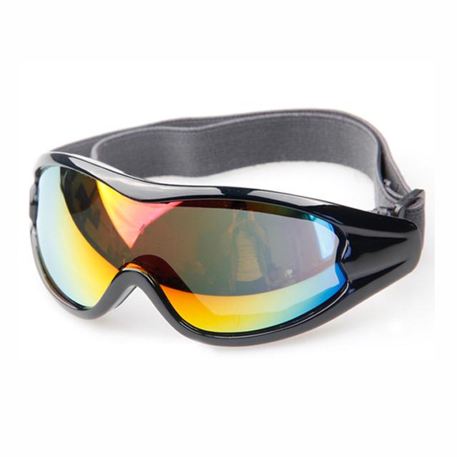Olhar agradável equitação óculos de proteção do capacete da motocicleta óculos de lente brilhante óculos de corrida óculos de proteção para esportes de moto snowmobile