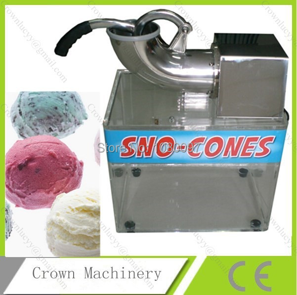 double blades commercial ice crusher shaver snow cone making mainland - Commercial Snow Cone Machine