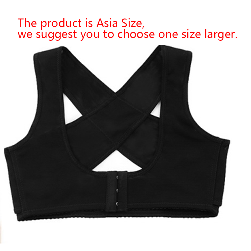 3aecd727ebe37 Women s Adjustable Back Support Belt Corset Posture Corrector Brace ...
