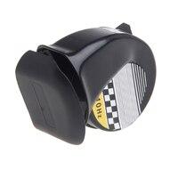 Venda quente universal à prova d130água alto caracol buzina de ar sirene 130db para 12 v caminhão da motocicleta Buzinas de moto     -