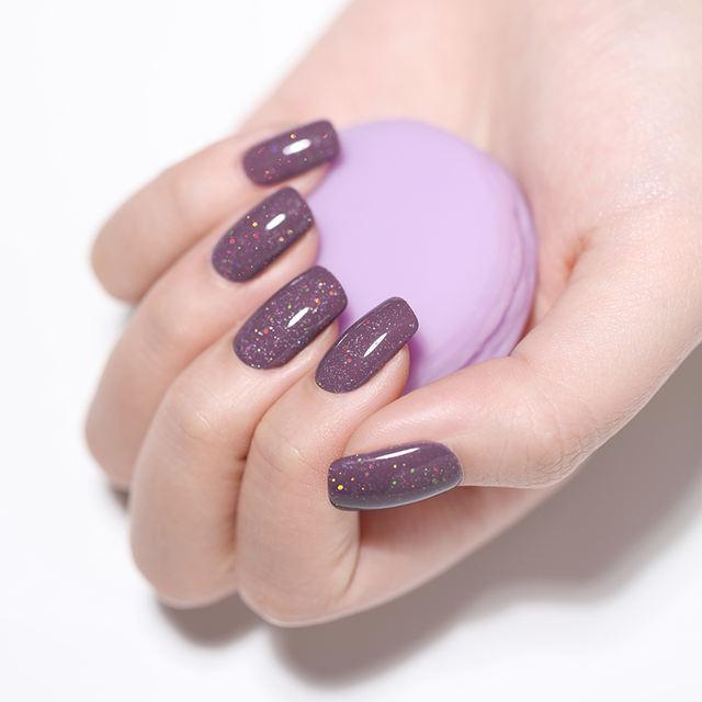 LILYCUTE 5ml Pink Series Glitter UV Gel