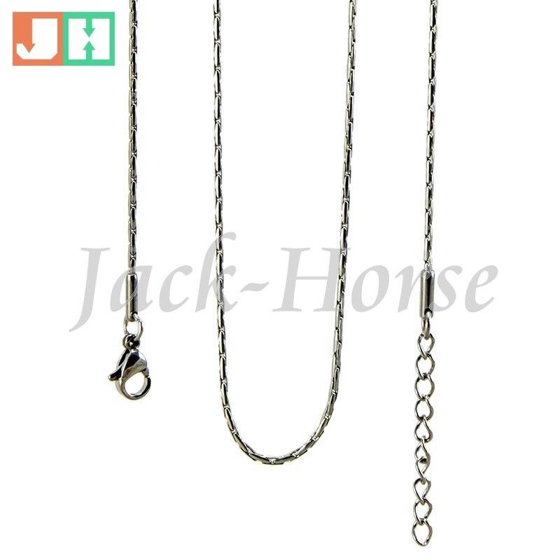 Бесплатная доставка Высокое качество 1.6 мм 10 шт./лот позолота оптовая продажа ожерелье из нержавеющей стали ювелирные изделия