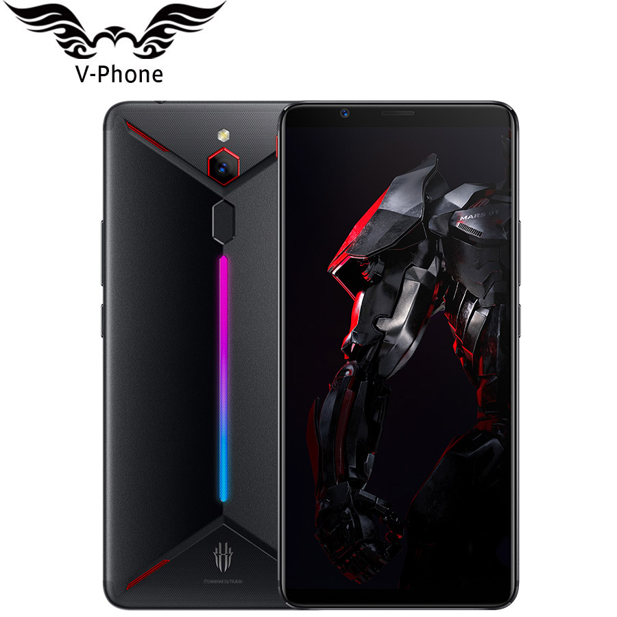 """ZTE Nubia Red Magic Mars Game Phone 6.0""""6GB / 8GB RAM 64GB / 128GB ROM Snapdragon 845 Octa Core 16MP Android 9.0 Mobile Phone"""