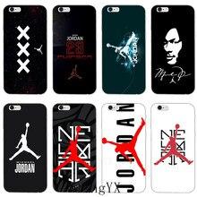 013fa25167e 2018 new Michael Jordan 23 logo silicone Soft phone case For Samsung Galaxy  S3 S4 S5
