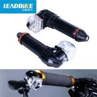 LEADBIKE USB Rechargeable Road Bicycle LED Light MTB Turn Signal Warning Handlebar Indicator Lamp Mountain Bike