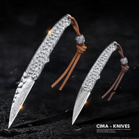 CIMA Damascus Pocket Knife Knives