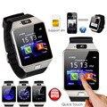 Tem a Caixa! nova Loja Big Desconto! smart watch dz09 com câmera cartão sim smartwatch para telefones android ios do bluetooth relógio de pulso