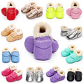 Toddler Baby Snow Booties Soft Sole Newborn Warm Winter Boots Crib Shoes 0-18M