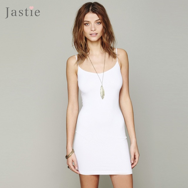 Stretch Mini Slip Dress Candy Colors Slim Knitted Women Dresses Sexy Adjustable Straps Boho Style Vestidos( Not Seamless )