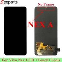6,59 для естественных Nex ЖК дисплей Дисплей Сенсорный экран планшета Панель Ассамблеи для естественных NEX а ЖК дисплей Экран ремонт Запчасти