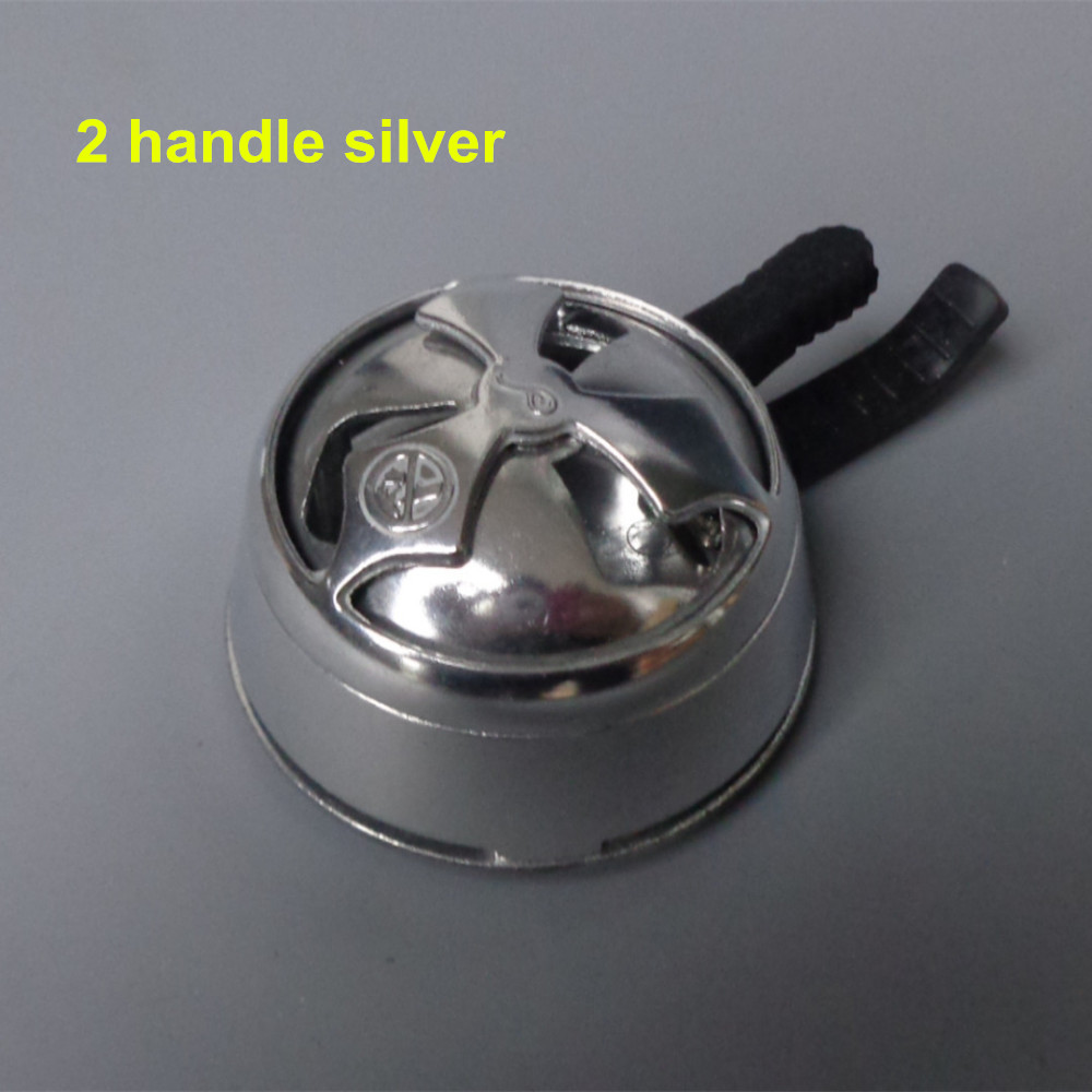 1pc aluminum alloy shisha hookah charcoal holder for most glass hookah bowl, silicone hookah bowl, clay shisha bowl