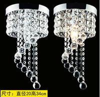 Modern K9 Crystal celling Light Bedroom Lighting Fixture 90 260V E14 LED celling Lights Home Decoration Stainless alise lamp