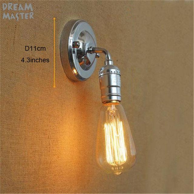 Online Shop American Vintage Wall Lamps single-head Bedside Lamp ...