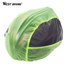 West biking водонепроницаемый шлем крышка Велоспорт Шлем Защита пылезащитный светоотражающий для горного велосипеда дорожный велосипедные шлемы для велосипеда дождевик