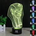 HY No.61-75 Remote Control 7 Colors Changing Night Lights 3D LED Desk Table Lamp Home Decoration For Gifts