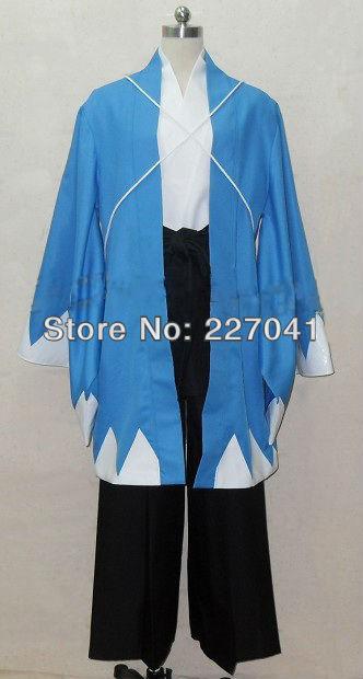 New Hakuouki Toudou Heisuke anime costume cosplay Free Shipping