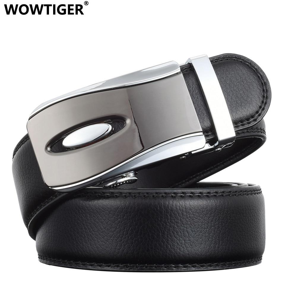 WOWTIGER Դիզայներ Luxury կաշվե ժապավեն - Հագուստի պարագաներ - Լուսանկար 2