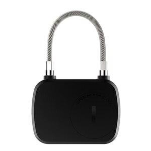 Image 3 - Golden Security Smart Lock Keyless Smart Fingerprint Lock IP66 Waterproof Anti Theft Security Padlock Door Luggage Case Lock L13
