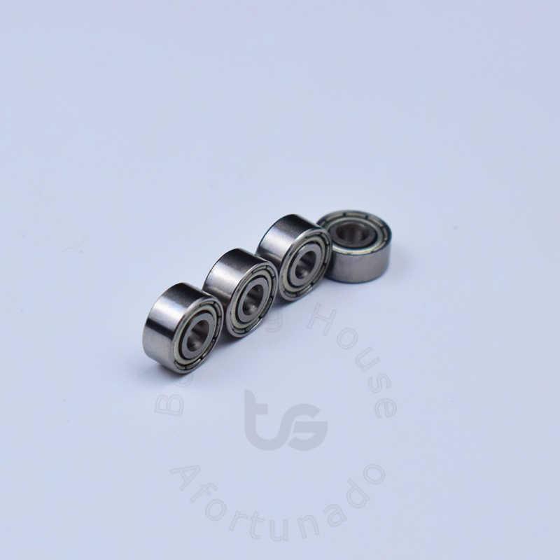 Rodamiento de acero cromado MR93ZZ 3*9*4(mm) 10 unidadesenvío gratis rodamiento ABEC-5 Metal sellado minirodamiento MR93 MR93ZZ