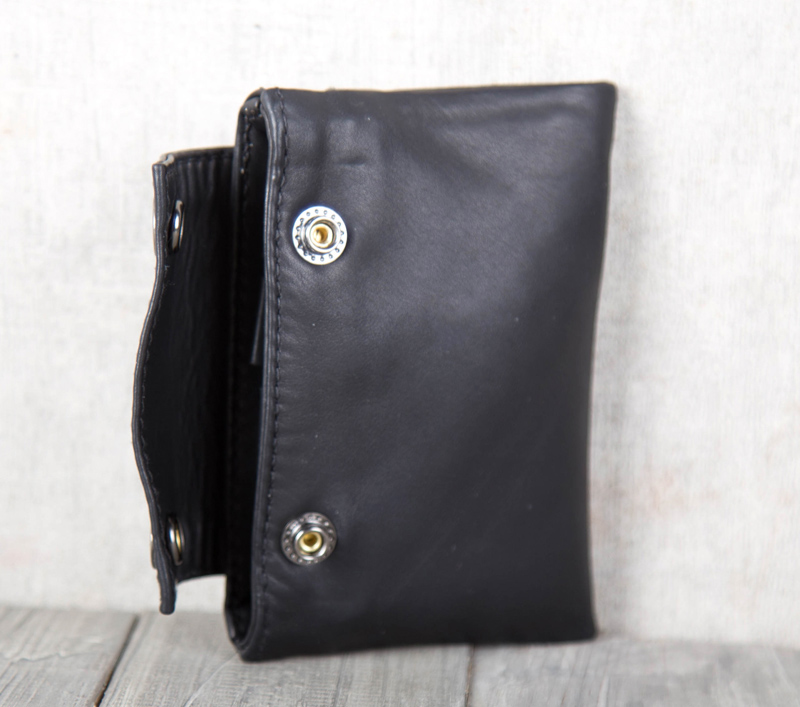 AETOO Handmade leather wallet Horizontal coin Pack Fetal cowhide Small card bag
