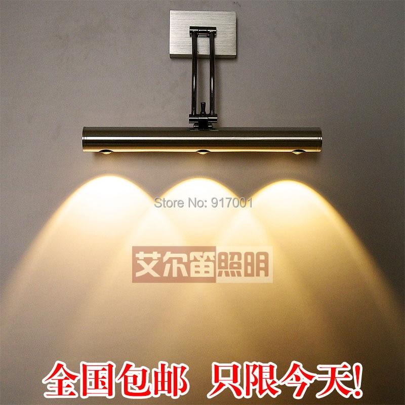 Led lamps morden bathroom mirror light wall lamps led bathroom mirror cabinet lamp lamps cosmetic 40cm 12w acryl aluminum led wall lamp mirror light for bathroom aisle living room waterproof anti fog mirror lamps 2131
