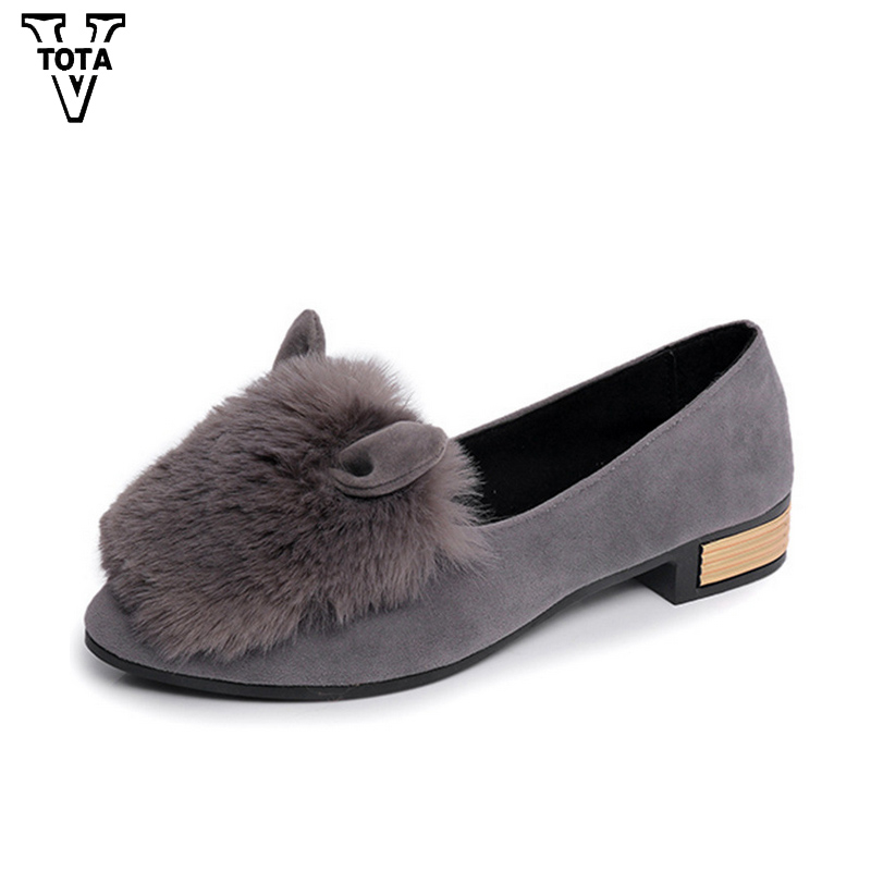 VTOTA Autumn Spring Casual Women's Shoes Breathable Shoes Woman Slip-on Ladies New Women's Flats Pointed Toe Low Heel Shoes HPL baijiami 2017 new children solid breathable slip on pu casual shoes boys and girls spring summer autumn flat bottom shoes
