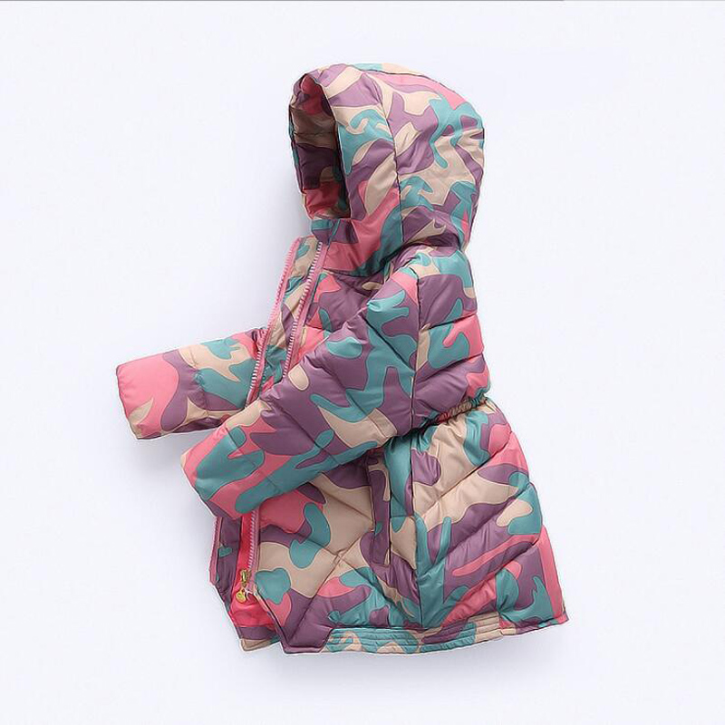 Baby Down Jacket made of Goose feather Jacket for Girls Children Winter Overalls Girls Clothes Kids Parkas Coat Baby jackets children winter coats jacket baby boys warm outerwear thickening outdoors kids snow proof coat parkas cotton padded clothes