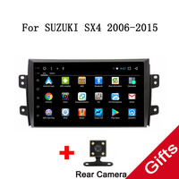 9 Android 7.1 Octa Core Fit SUZUKI SX4 2006 2007 2008 2009 2010 2011 2012 2013 2014 2015 Car DVD Player Navigation GPS Radio