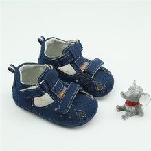 Infant Boys Handmade Stitch Slip-on First Walkers