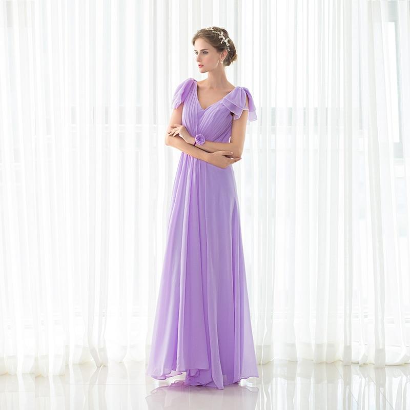 Forevergracedress Lavendel Brautjungfer Kleid Neue Ankunft Lange ...