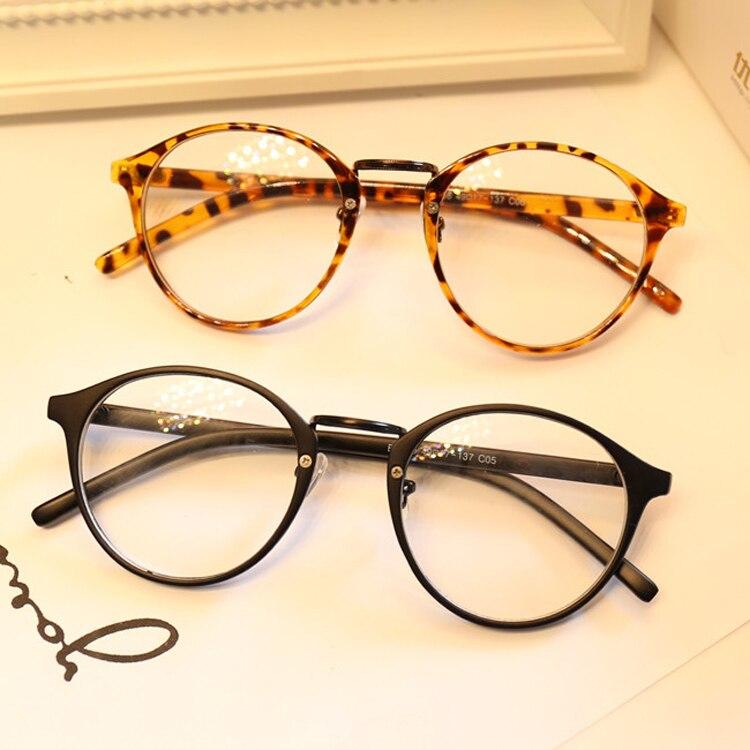 DRESSUUP Niedlichen Stil Vintage Frauen Brille Rahmen Runde Brillen ...