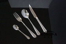High quality stainless steel spoon fork and knife flatware set cultery set tableware set  4pcs/set talheres