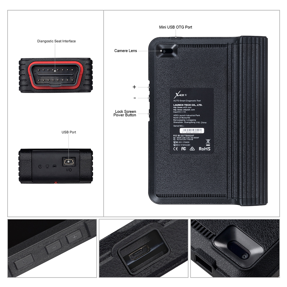 launch x431 v auto diagnostic tool  (8)