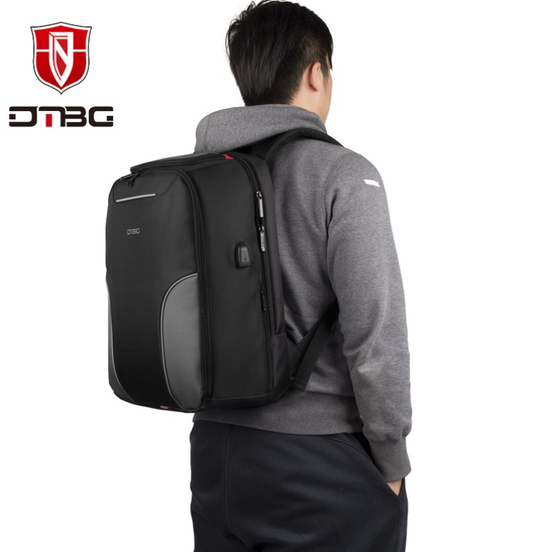 2018 NEW DTBG High Quality 17inch Business Backpack Travel Bag Laptop backpack Men and Women Casual Daypacks &USB Charging Port