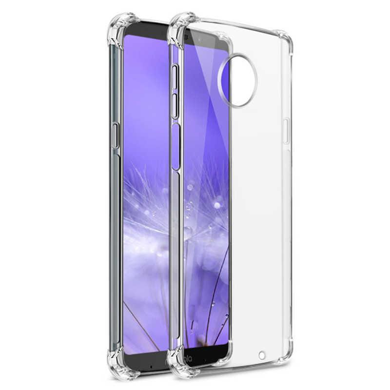 Olhveitra TPU Mềm Dẻo Dành Cho Motorola Moto G6 G7 Power Plus Chơi Z4 Z3 E5 G5S G5 G4 E5 E4 g6 G7 Plus Chơi Điện Bao Ốp Lưng Trong Suốt