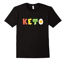 Keto Low-Carb Diet T-Shirt 100% Cotton Printed T Shirt Top Tee T-Shirt Novelty Cool Tops Men'S Short Sleeve Tee цена