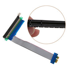 Cabo plano flexível extensor pcie pci express, 1x to 16x ffc pci-e