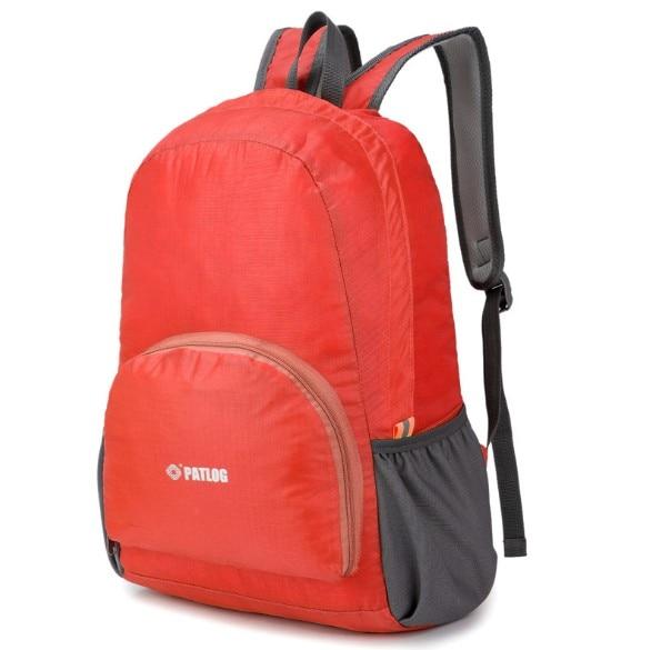 Plegable bolso de la reconstrucción mochila piel plegable Paquete  Impermeable viaje bolsa de deporte bolsa bolso del estudiante paquete en Gimnasio  Bolsas ... 446c45c3e4b4c