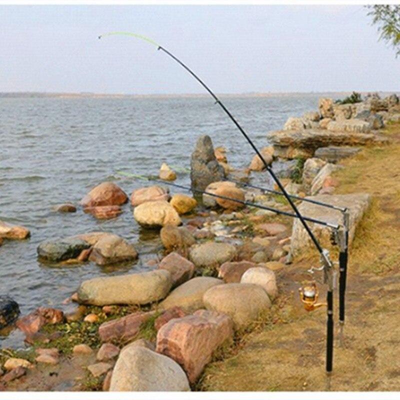Рыбалка держатель штанги с Best чувствительной и высокая прочность автоматического весна откидными крюк сеттер и складной Рыба полюс стойки
