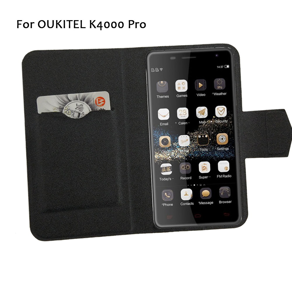 5 Farben heiß! OUKITEL K4000 Pro Telefonhülle Lederhülle 2017 Factory Direct New Fashion Luxus Full Flip Stand Telefonhüllen