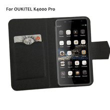 5 Colors Hot! OUKITEL K4000 Pro Phone Case Leather Cover 2017 Factory Direct New Fashion Luxury Full Flip Stand Phone Cases