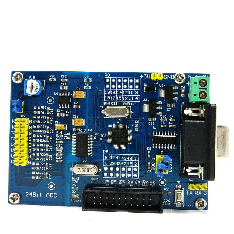 Module d'acquisition de haute précision AD 24 bits ADS1256 module AD 24 bits STM32F103C8T6
