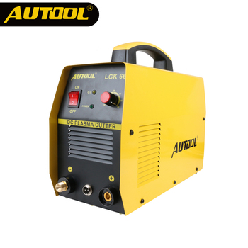 AUTOOL LGK66 220V Plasma Cutter IGBT DC Invertor Welder Air Plasma Metal Cutting Machine ARC HF Oscillating Cut Metal 1-14mm